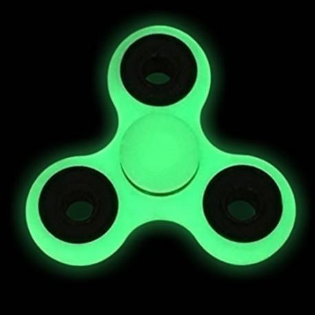 pimeds helendav näpuvurr - Fidget Spinner, valge