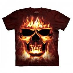 футболка с 3D принтом Skulfire