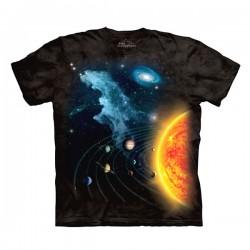 детская футболка с 3D принтом Solar System