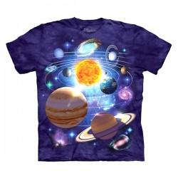 детская футболка с 3D принтом Planets
