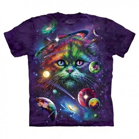3D prindiga T-särk Cosmic Cat