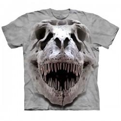 3D prindiga T-särk T-Rex Skull