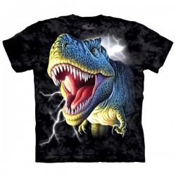 детская футболка с 3D принтом Lightening Rex