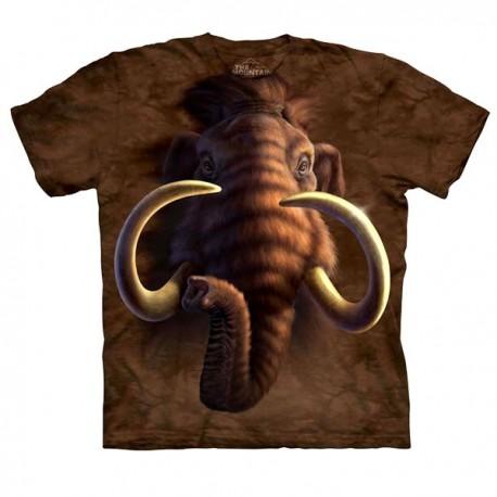 3D prindiga T-särk lastele Mammoth