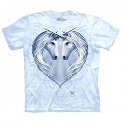 3D prindiga T-särk Unicorn Heart