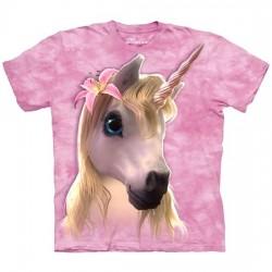 3D prindiga T-särk lastele Cutie Unicorn
