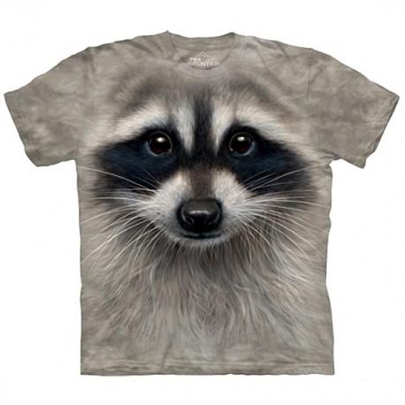 3D prindiga T-särk Raccoon