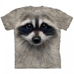 3D prindiga T-särk lastele Raccoon
