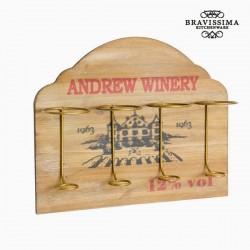 Puidust Pudeliriiul Seinale Winery