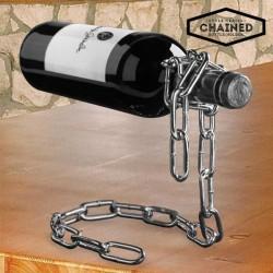 Подставка для бутылки в виде цепи