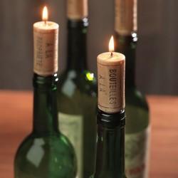 Свечи - винные пробки