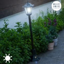 Лампа с Солнечной Батареей и Подставкой