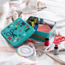 Металлическая Коробка со Швейными принадлежностями