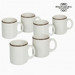 Kruuside Komplekt China White/Brown (6tk)