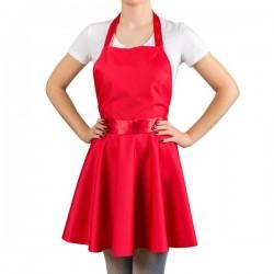 Armas põll-kleit, punane