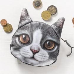 Сумочка для монет Кошка III