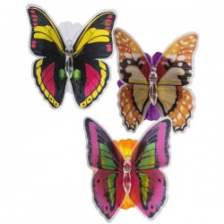 Декоративная LED-Бабочка на Цветочке