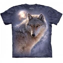 футболка с 3D принтом Adventure Wolf