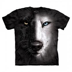 футболка с 3D принтом Black & White