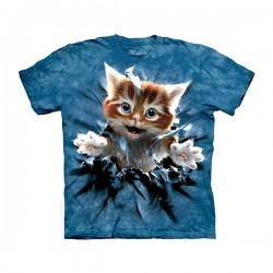 3D prindiga T-särk Breakthrough Kitten