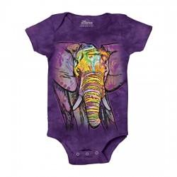 Боди с 3D принтом Russo Elephant