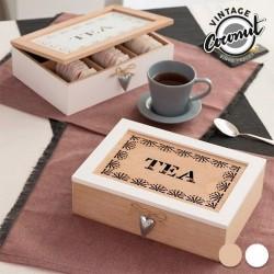 Vintage-stiilis Teepakikeste Karp