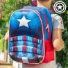 3D Koolikott Captain America II