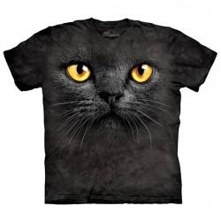 3D prindiga T-särk lastele Black Cat