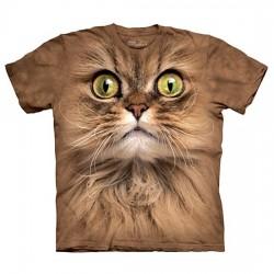 3D prindiga T-särk lastele Brown Cat
