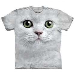 детская футболка с 3D принтом Green Eyes