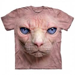 футболка с 3D принтом Hairless