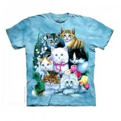 3D prindiga T-särk Kittens