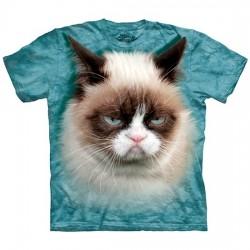 3D prindiga T-särk lastele Grumpy Cat
