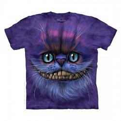 3D prindiga T-särk lastele Cheshire Cat