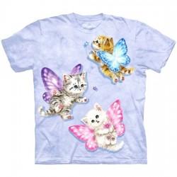 3D prindiga T-särk lastele Kitten Fairies
