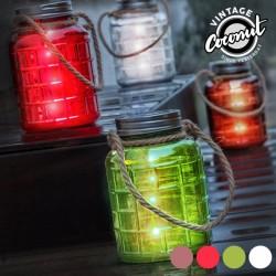 Dekoratiivne Klaaspurk LED Tuledega