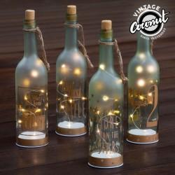 Стеклянная Бутылка со Светодиодами