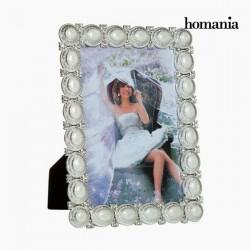 Pärlitega Pildiraam White 13 x 18cm