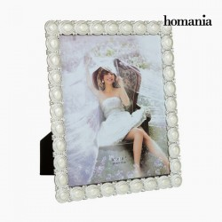 Pärlitega Pildiraam White 20 x 25cm