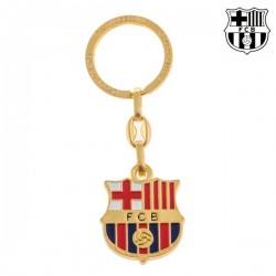 Золотой Брелок для Ключей F.C. Barcelona