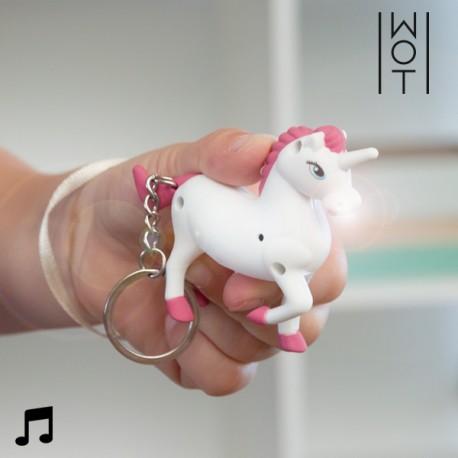 Heliga LED Võtmehoidja Unicorn