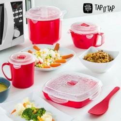 Набор для Приготовления Пищи на Пару в Микроволновке Tap It Tap (11 предм.)