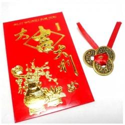 Hiina Õnnemündid Ümbrikus (3tk)