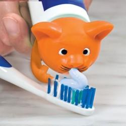 Крышка-Дозатор Зубной Пасты Котик