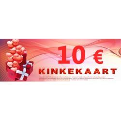 Подарочный сертификат 10 €