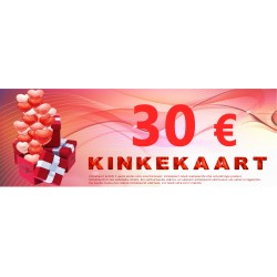 Kinkekaart 30 €