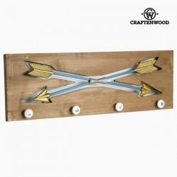 Настенная Вешалка с 4я Крючками Arrows
