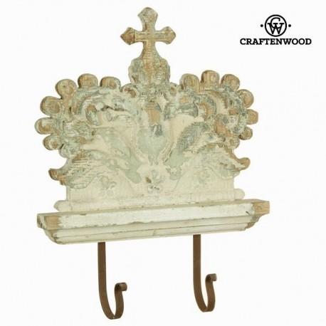 Настенная Вешалка с 2я Крючками Crown