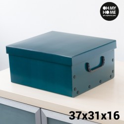 Коробка для Хранения с Крышкой и Ручками Simple