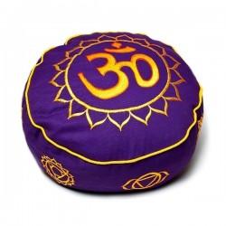 Meditatsioonipadi Purple/Gold Ohm